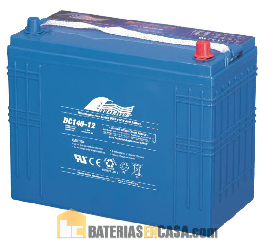 Battery Dc140 12 12v 140ah Fullriver Agm Hermetica