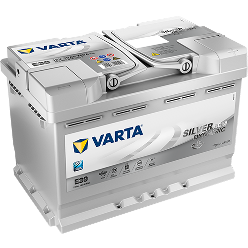 VARTA E39 70AH AGM START STOP 760A