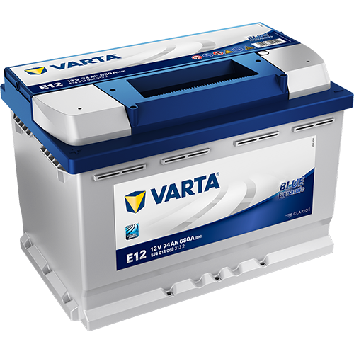 VARTA BLUE DYNAMIC E12 12V 74AH