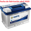 VARTA BLUE DYNAMIC E11 12V 74AH