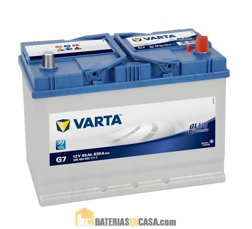 VARTA BLUE DYNAMIC G7 12V 95AH