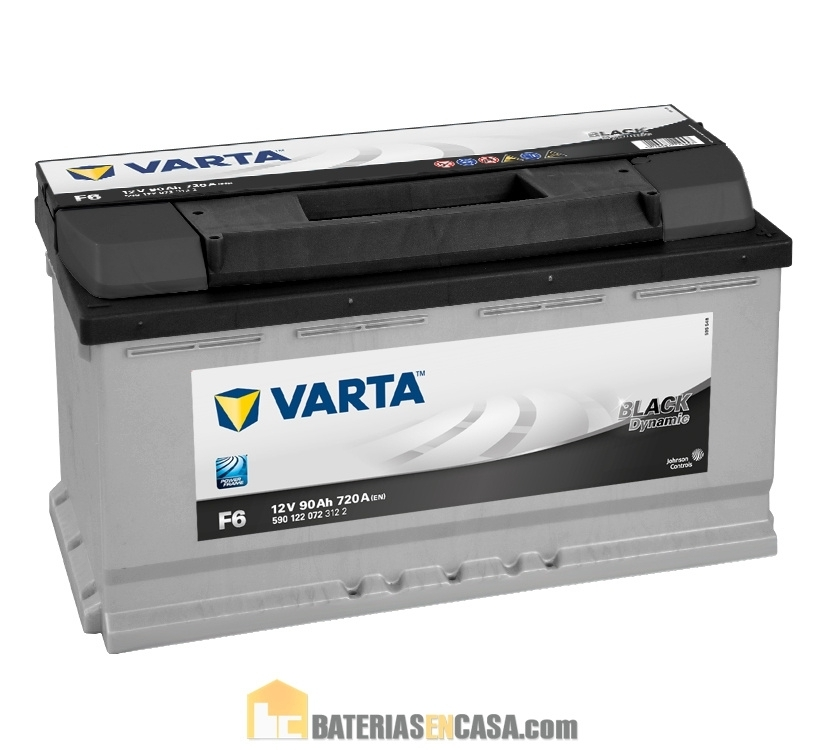 VARTA  BLACK DYNAMIC F6 12V 90AH